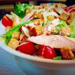 Chargrilled chicken Caesar salad