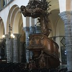 Cathedral pulpit