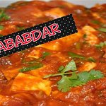 COTTAGE CHEESE (PANEER) COOKED IN TOMATO GRAVY WITH SOME MOUTH WATERING SPICES
