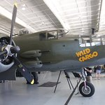 Just one of the over 70 warbirds