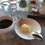 Corn Ice Cream and Biscotti