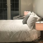 Stylish Bedrooms above - tastefully furnished with luxe touches