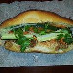 #6 Banh Mi (Caramelized pork belly)
