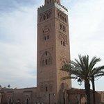 La mezquita principal de Marrakesh