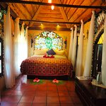 Bungalow are more spacious rooms designed for couples with indoor lounge room and hot tub.