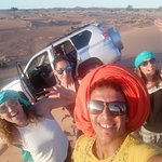 The best time in the desert of merzouga with my desert experience Tours in Morocco Casablanca to