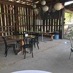 Cool, shady patio