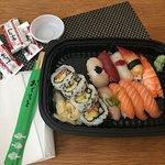 13-bitars sushi - hämtad