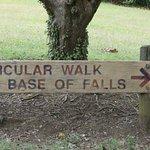 easy signage at Whangarei Falls