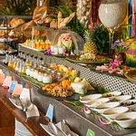 Full Buffet set up at our Restaurant (Sala Chhan)