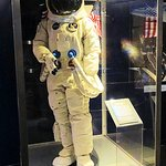 space exhibit - neil armstrong apollo 11 spacesuit