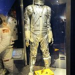 space exhibit - john glenn mercury spacesuit