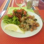 Bouillabaisse et tartare de thon