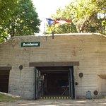 Bunker 1 nach der säuberung 2018. Bunker 1 after beeing cleaned in 2018