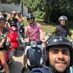 Via Vespa Tour Barcelona