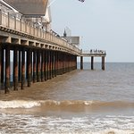 Southwold Pier from beach