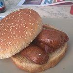 The sausage bap....