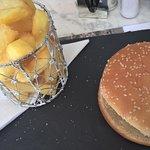 Bar Bondia - home made burger and chips