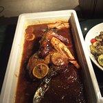 Turkey ... orange sauce ++++delicious