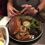 Delicious fresh crab