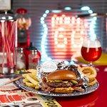 Meet our new drive thru burgers