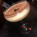 Espresso martini by Patrick, excellent, tried a few In the area and this one has to be the best!
