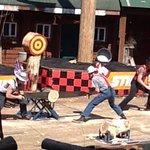 Great Alaskan Lumberjack Show resmi