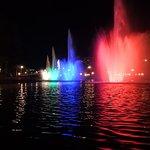 С 22-30 по 23-00 расцветают фонтаны