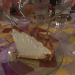 Mile-high key lime pie...really good...