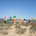 Seven Magic Mountains, Jean, Nevada