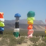 Four of the Seven Magic Mountains, Jean, Nevada