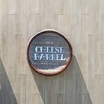 Cheese Barrel Sign