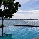 Escape Beach Resort: Pool/Restaurant Area