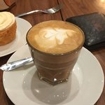 Café Mocca y Flat White espectacular 👌🏻