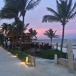 Sunset Akumal Bay