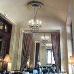 Elegant dining rooms.