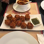 Hot and Sour Soup, Chicken Pakora