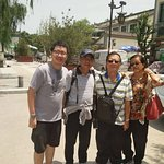 Picture taken with our lovely guide Mr.Bryan Bai (pictured second from left)