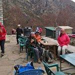Tea break. Lots of tea houses along the trail to Everest Base Camp