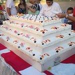 Una super torta per la serata di gala