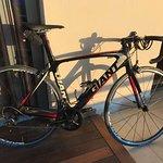 Giant TCR hire bike