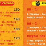 All the value for money, satiating combos & thali options at YDA