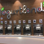 Yogurtland at Zero6: self-serve