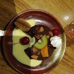 Dessert : Choc Intense aux Spéculos