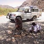 Preparing Bedouin Tea
