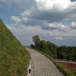 pathway on the Mound