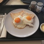 Breakfast room service - Egg's on toast