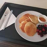 Breakfast room service - Pankcakes