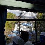 Foto Onsen di Taman Hotel Okuhida Yakedake