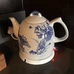 Bellísima jarra eléctrica de porcelana